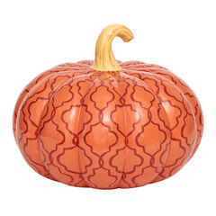 Orange Pattern Pumpkin,