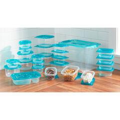 50-PC. Food Storage Container Set,