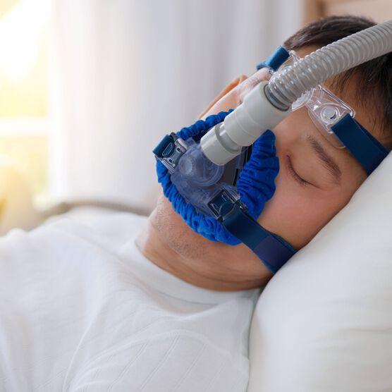 CPAP Full Face Mask Comfort Liner, Set of 2, BLUE