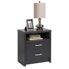 District Tall 2-Drawer Nightstand,