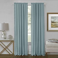 Wallace Rod Pocket Window Curtain Panel,