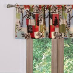Rustic Lodge Window Valance by Greenland Home Fashions,
