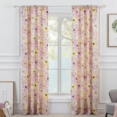 Misty Bloom Curtain Panel,