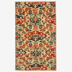"Alanya 21"" x 34"" Rug, RED MULTI"