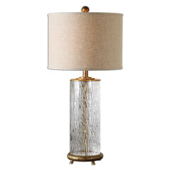 Tomi Glass Table Lamp,