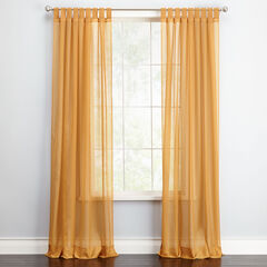BH Studio Sheer Voile Tab-Top Panel,
