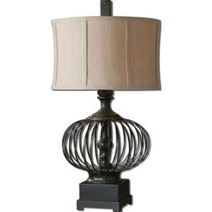 Lipioni Rustic Black Lamp,