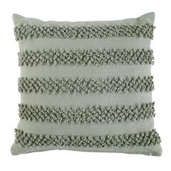 Pom Pom Textured Decorative Pillow,