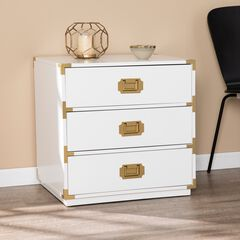 Campaign 3-Drawer Accent Chest,