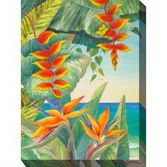 Hot Tropic #1 Outdoor Wall Art,