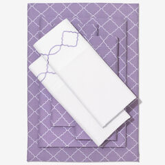 Nolita 6-Pc. Microfiber Sheet Set, ORCHID TRELLIS