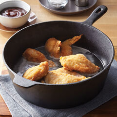 "12"" Cast Iron Chicken Fryer,"