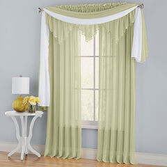 BH Studio Crushed Voile Ascot Valance,