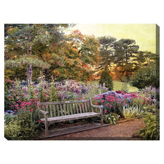 Garden Delight Outdoor Canvas Art,