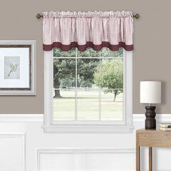 Westport Window Curtain Tier Pair and Valance Set,