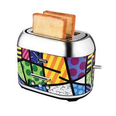 Kalorik by Britto Toaster, Multi Color Design,