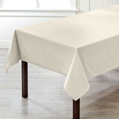 "60"" x 120"" Venice Velvet Tablecloth, IVORY"