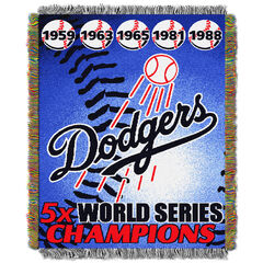 Dodgers Commemorative Series Throw,