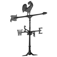 """30"""" Rooster Accent Weathervane,"""