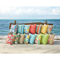 "20""Sq. Outdoor Toss Pillow,"
