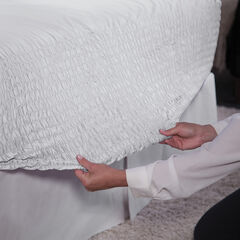 Comfort Dry Bed Tite™ Sheet Set, WHITE