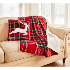 Christmas Throw & Cushion Set,