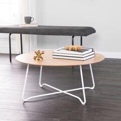 Holly & Martin Kacheri Round Scandinavian Style Coffee Table,