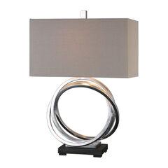 Soroca Silver Rings Lamp,