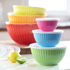 12-Pc. Mixing Bowl Set,