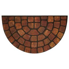 "Raised Rubber Mat 18"" x 30"","