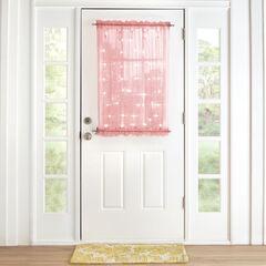 """40"""" Pre-Lit Door Panel, PINK"""