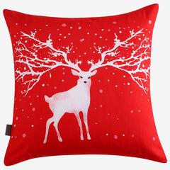 Christmas Deer Decorative Pillow,