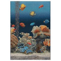 Liora Manne Marina Aquarium Indoor/Outdoor Rug,