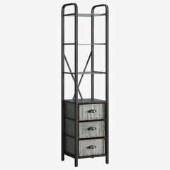 Intek Tower with Three Drawers,