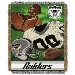 Raiders Vintage Throw,
