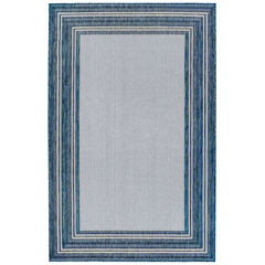 Liora Manne Carmel Multi Border Indoor/Outdoor Rug,