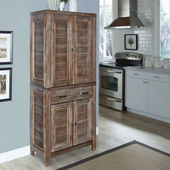 Barnside Kitchen Pantry, BROWN