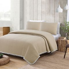 Estate Collection Costa Brava Quilt Set,