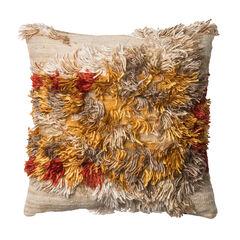 Shaggy Bohemian Air Decorative Pillow,