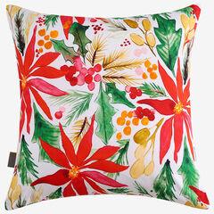 Poinsettia Decorative Pillow,