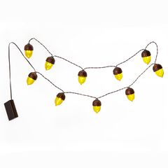 Harvest Acorn String Lights,