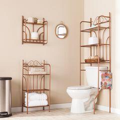 Copper Scroll 3-Pc. Bath Set, COPPER
