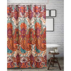 Nirvana Spice Shower Curtain by Greenland Home Fashions,
