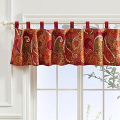 Tivoli Cinnamon Window Valance by Greenland Home Fashions,