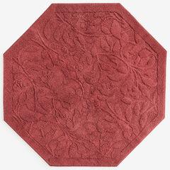 4' x 4' Octagon Foliage Rug,