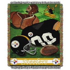 Steelers Vintage Throw,