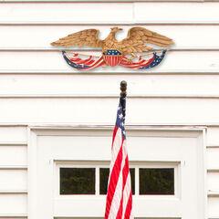 """24"""" Patriotic Wall Eagle,"""