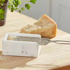 Grater with Marble Holder,