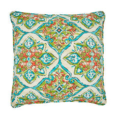 "16"" Sq. Toss Pillow, ANTALYA GREEN"