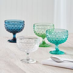 Lexa Hobnail Goblets, Set of 4 ,